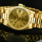 Rolex Date Just 68278 Yellow Gold Medium Size