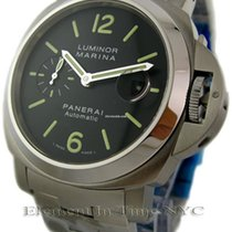 Panerai Luminor Collection Stainless Steel Black Dial 44mm...