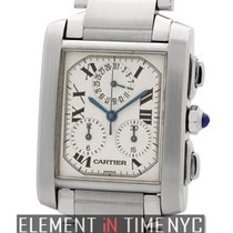 Cartier Tank Collection Tank Francaise Chronograph Stainless...