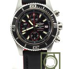 Breitling Superocean Chronograph II red a13341012 ba81 100% NEW