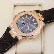 Patek Philippe Nautilus Men's 18K Rose Gold Watch 5712R-001