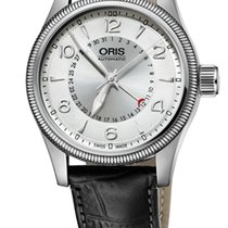 Oris Big Crown Pointer Date, Silver Dial, Leather Bracelet