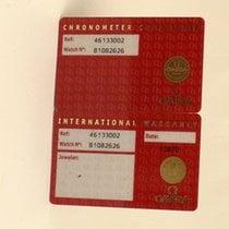 Omega De-Ville Certificate Zertifikat Warranty + Chronometer...