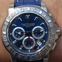 Carl F. Bucherer Patravi Gmt Chronograph Blue
