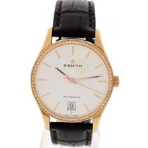 Zenith Captain Port Royal 18K Rose Gold & Diamond 22.2310....