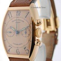 Franck Muller Casablanca Chronograph 18K Gold Doctors Dial...