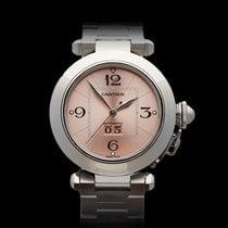 Cartier Pasha Grand Date Stainless Steel Unisex 2475