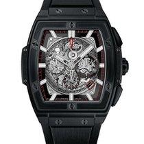 Hublot Spirit Of Big Bang 45mm Black Magic Chorograph Watch