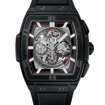 Hublot Spirit Of Big Bang 45mm Black Magic Chorograph Watch