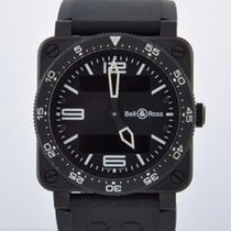 Bell & Ross BR 03-88 TYPE AVIATION - 2 EXTRA BANDS - 2 YR...