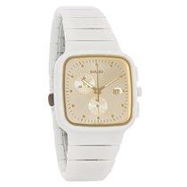 Rado Jubile R5.5 Ladies White Ceramic Swiss Chronograph Quartz...