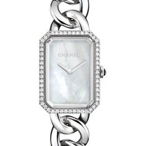 Chanel H3255 Premiere Ladies Quartz in Steel with Diamond...