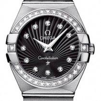 Omega Constellation Ladies Diamond Quartz 27