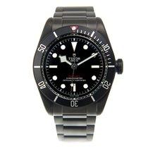 帝陀 (Tudor) New  Heritage Stainless Steel Black Automatic 79230DK