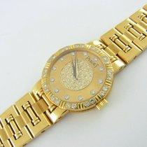 Piaget Dancer Lady Watch Damenuhr 18 Kt Gelbgold Diamanten...