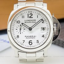 Panerai PAM00051 Luminor Marina 40MM White Dial SS / SS (25917)