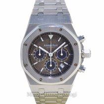 Audemars Piguet Royal Oak 39mm Chronograph steel black brown dial