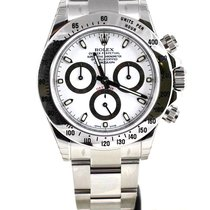 Rolex Daytona Cosmograph Stainless Steel white 116520 100% NEW