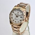 Rolex 36MM DAY DATE IN 18CT ROSE GOLD WHITE ROMAN DIAL