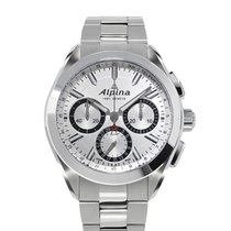 Alpina Alpiner 4 Flyback Chronograph Silvered Sunray Dial...