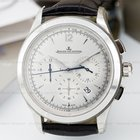 Jaeger-LeCoultre Master Chronograph SS Silver Dial