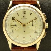 Omega Vintage Chronograph, 18 kt rose gold, full set