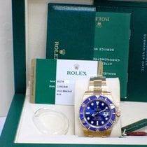 Rolex Submariner 18K 116618 Blue Ceramic Box and Papers 2015
