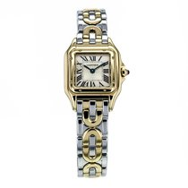 Cartier Panthere Steel And Gold Quartz Champagne Dial Women&#3...