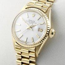 Rolex Lady-Datejust 18 Karat Gelbgold Damenuhr 18K Gold