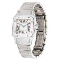 Cartier Santos Galbee Stainless Steel Quartz Watch W20056D6