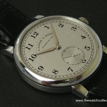 A. Lange & Söhne & Sôhne: Very Rare 1815 Platinum 40...