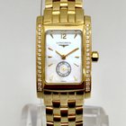 Longines Dolce Vita Solid 18k Yellow Gold