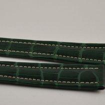Breitling Kroko Leder Armband Band 22mm 22-18 Für Faltschliess...
