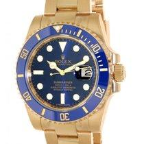 Rolex Submariner 116618lb Yellow Gold, 40mm