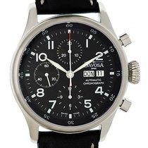 Davosa Pilot Stahl Chronograph Automatik 42mm