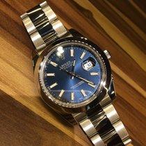 Rolex Datejust II 116300 Blue Sunburst Dial