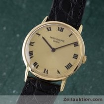 Patek Philippe 18k Rosé Gold Calatrava Handaufzug Vintage 3562 1