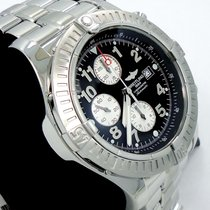 Breitling Super Avenger A13370 48mm Chronogaph Automatic Black...