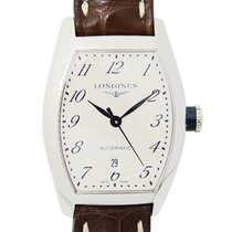 Longines Evidenza Stainless Steel Silvery White Automatic...