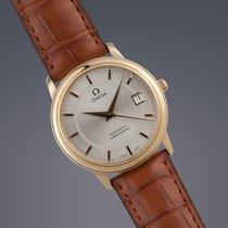 Omega De Ville Prestige 18ct yellow gold automatic watch FULL SET
