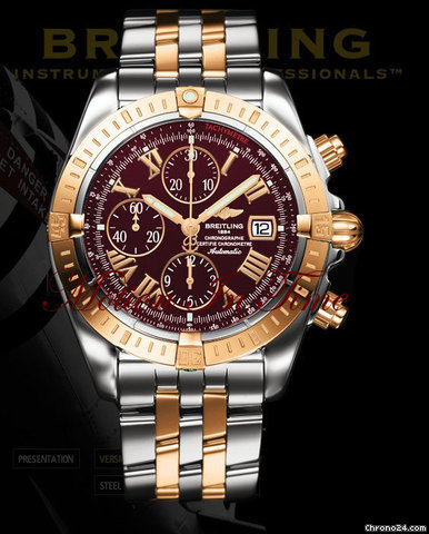 Breitling CHRONOMAT EVOLUTION ROSE GOLD &amp;amp; STAINLESS STEEL
