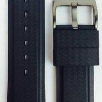 Davosa Argonautic Kautschukband schwarz 22mm 169.498.55