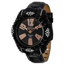 Tendence Women's Glam Crystal Art Watch