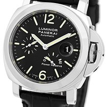 "Panerai Gent's Stainless Steel  PAM 90 ""Luminor Power..."