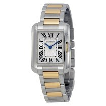 Cartier- Tank Anglaise - Kleines Modell, Ref. W5310046