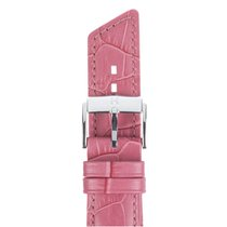 Hirsch Uhrenarmband Princess Kalbsleder pink M 02628125-2-12 12mm
