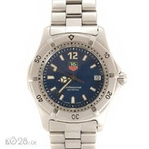 TAG Heuer Professional 2000 Medium WK 1213 Stahl Quarz 34mm