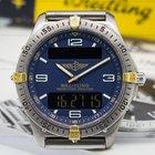 Breitling Aerospace Professional Blue Dial Titanium / Gold