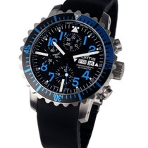 Fortis 671.15.45 K B-42 Marinemaster Blue Chronograph 42mm 20ATM