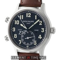 Πατέκ Φιλίπ (Patek Philippe) Calatrava Pilot Travel Time 18k...